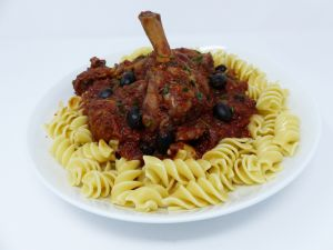 Recette Blanquette de dinde à l'italienne