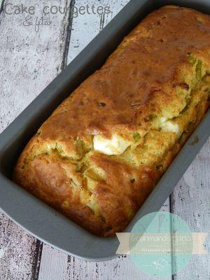 Recette Cake courgettes & féta