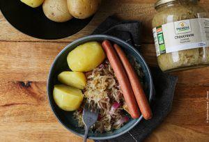 Recette Choucroute végétarienne express : facile & rapide à préparer