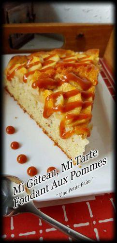 Recette Mi Gâteau, Mi Tarte, Fondant Aux Pommes