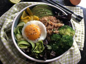 Recette Bibimbap végétarien