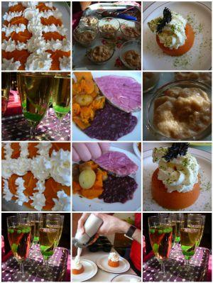 Recette Cuisine moléculaire - Molecular cuisine