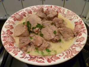 Recette Filet mignon de porc en goulash