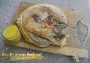 Recette Rouelle de porc fondante et sa sauce moutarde et miel