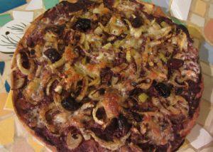 Recette Pizza au fenouil