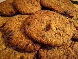 Recette Cookies pralin chocolat