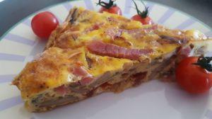 Recette Frittata au jambon vendéen et légumes
