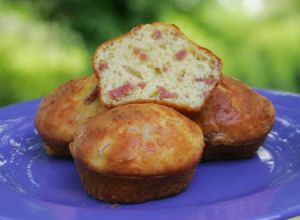 Recette Muffins jambon-fromage