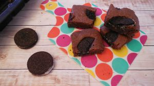 Recette Brownies aux Oreo
