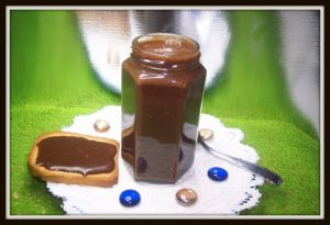 Recette Pâte a tartiner noisette-chocolat
