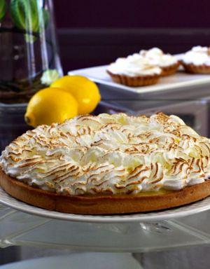 Recette Suisse : Tarte au Citron Meringuée