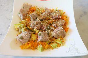 Recette Salade de céréales a l'asiatique