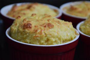 Recette Soufflé aux fromages, oignons et champignons frits (cuisine juive Yom Kippour)