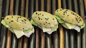 Recette Minis sandwichs jambon fromage