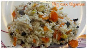Recette Riz aux légumes au cookéo