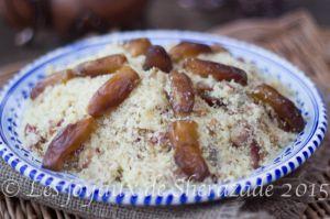 Recette Couscous algérien aux dattes