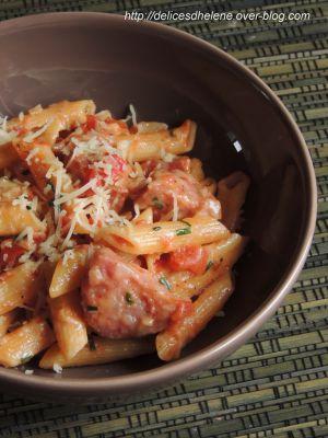 Recette One pot pasta version franc-comtoise