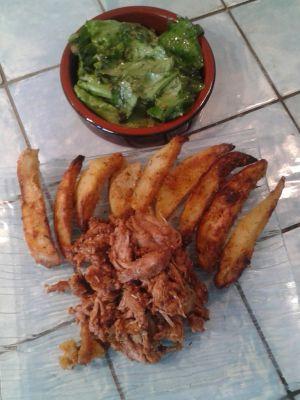 Recette Tour en cuisine 399: Poulet au coca cola et potatoes