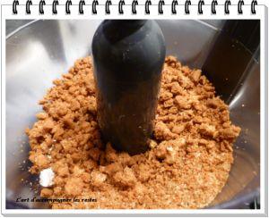 Recette Crumble inversé aux pommes et chocolat avec Petit Brun Extra®