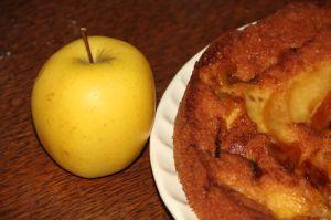 Recette Moelleux aux pommes et a l'orange