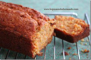 Recette Cake aux carottes / Carrot cake