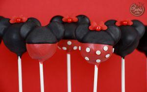 Recette Cake pops Mickey et Minnie