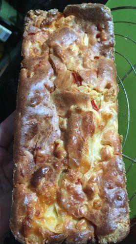 Recette Cake au poulet mozzarella poivron