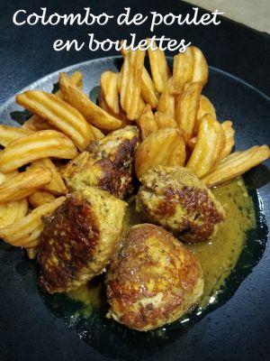 Recette Colombo de poulet en boulettes