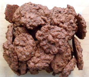Recette Cookies au chocolat et aux pépites de chocolat