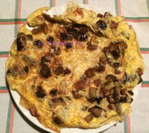 Recette Frittata aux aubergines