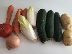 Recette Ma soupe de légumes moches