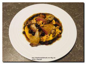 Recette Pigeon et sa purée de patate douce