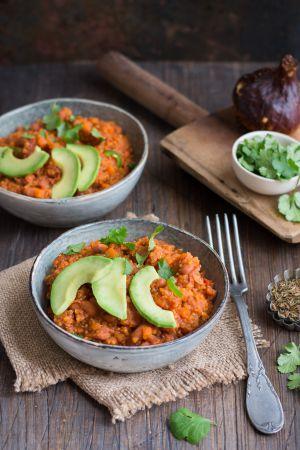 Recette Chili con quinoa