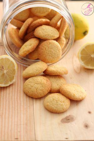 Recette Sablés au citron et à l'amande