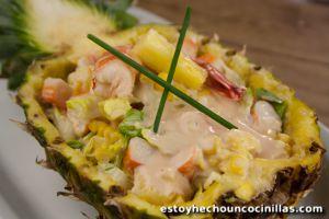 Recette Cocktail tropical aux fruits de mer