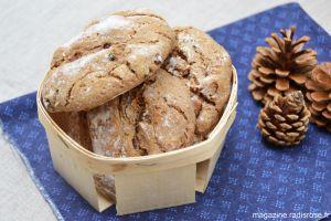 Recette Battle bread sandwich : pain à la farine de châtaigne, noisettes et raisins secs