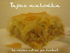 Recette Tajine malsouka