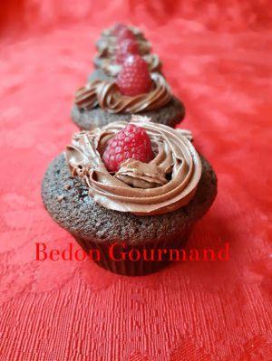 Recette Cupcakes chocolat-framboise
