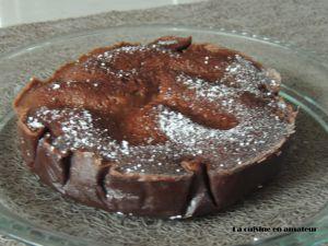 Recette Gâteau chocolat amande au Cookéo