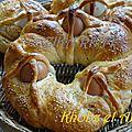 Recette Khobz el aid (pain spécial aid) / terroir bônois
