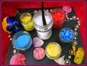 Recette Comment réaliser du sucre de couleur et vanille