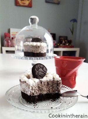 Recette Mon cheesecake Oréos