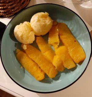 Recette Ananas roti a la vanille