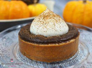 Recette Pumpkin Spice Tart