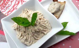 Recette Rillettes de thon, menthe et olives au Sainte Maure de Touraine