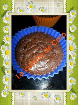 Recette Mini moelleux chocolat/courgette