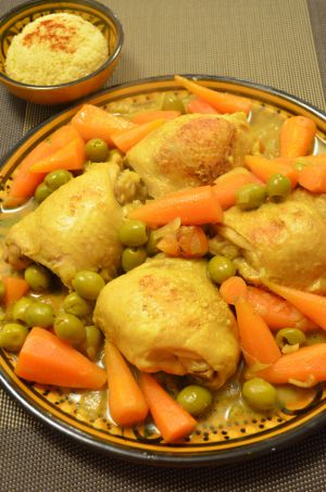 Recette Tajine chicken&olive - Tajine poulet&olive