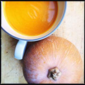 Recette Soupe de citrouille au lait de coco