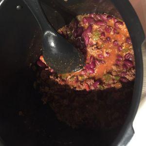 Recette Chili cone carne dans le cookéo