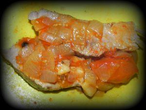 Recette Rouelle de porc et ses tomates